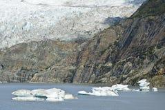 USA Alaska - Mendenhall Glacier - Texture Stock Photography