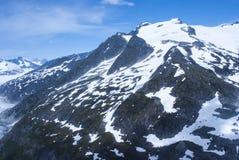 USA - Alaska - Mountain tops -  Aerial view Royalty Free Stock Photo