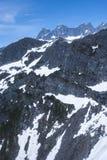USA - Alaska - Mountain tops - Close up Stock Photos