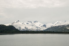 USA - Alaska - Nature landscape in a cloudy day Stock Images