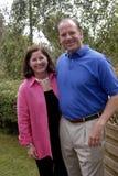 USA ambassador James P CAIN I MRS cain Obrazy Royalty Free