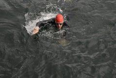 USA AMBASSADOR RUFUS GIFFORD pływanie 500 metrów Fotografia Stock