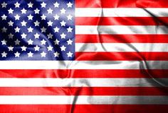 USA,America,United flag symbol national country background patriotic textile. 2017 Stock Image