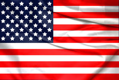 USA,America,United flag symbol national country background patriotic textile Stock Photo