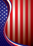 Usa american background template Royalty Free Stock Photo