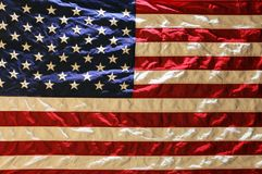 USA American flag background. Red, white, and blue American flag background Stock Photos