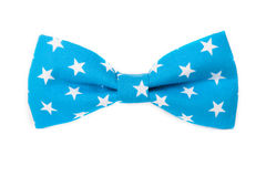 USA American flag on the bow tie isolated Royalty Free Stock Photo