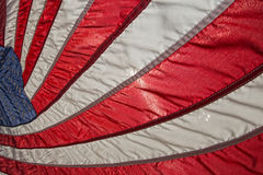 Usa American flag stars and stripes detail Stock Images