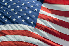 Usa American flag stars and stripes detail Stock Image