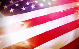 USA American flag Royalty Free Stock Photo