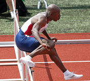 USA American Hurdles Masters Kenneth Eaton Royalty Free Stock Images