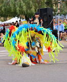 USA: American Indian/Fancy Feather Dance - Head Feathers Royalty Free Stock Photos
