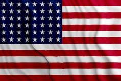 USA-amerikanische Flagge Stockfoto