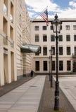 USA Amerykańska ambasada w Berlin zdjęcia royalty free