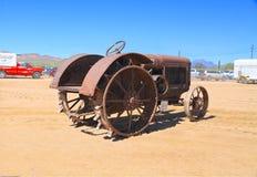 USA: Antiker Traktor: McCormick-Deering 1928 Lizenzfreie Stockbilder