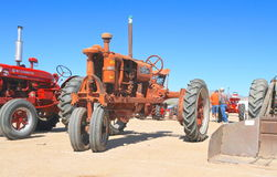 USA: Antique Tractor: 1932 Farmall - Model F-30 stock image