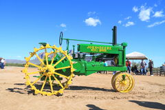Free USA: Antique Tractor - John Deere Model B (1935) Royalty Free Stock Photography - 29736827