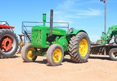 USA: Antique Tractor: 1944 John Deere, Model D Royalty Free Stock Photos