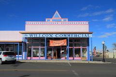 USA, Arizona: Alter Westen - historischer Speicher Lizenzfreie Stockfotografie