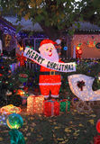 USA, Arizona: Front Yard Santa Royalty Free Stock Photo
