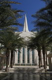 USA, Arizona/Gilbert: New Mormon Temple - Oasis in the Desert Stock Photography