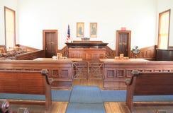 USA Arizona/gravsten: Gammalt västra - rättssal Royaltyfri Fotografi