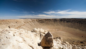USA, Arizona, Meteor Crater close to Flagstaff Royalty Free Stock Image