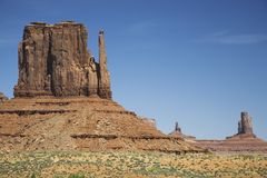 USA Arizona Mitten Butte at Monument Valley Stock Image