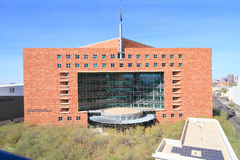 USA, Arizona/Phoenix: Amtsgericht Lizenzfreie Stockbilder