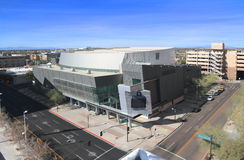USA, Arizona/Phoenix: Comerica-Theater Lizenzfreie Stockbilder