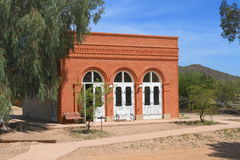 USA Arizona/Phoenix: Gammal Västbanken (1884/Reconstruction) Royaltyfri Bild