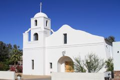 Free USA, Arizona/Scottsdale: Adobe Mission Church Stock Photos - 24165703