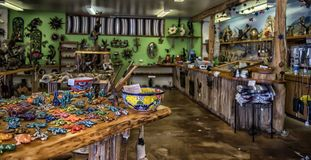 USA, Arizona, 30,06,2016 in the souvenir shop of Mexican and Nat stock photo