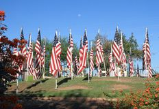 USA, Arizona/Tempe: 9/11/2001 - Healing Fields Stock Images