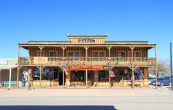 USA, Arizona/Tombstone: Historic Hotel  and Store Stock Photos