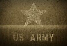 USA-armé av gyttja Arkivfoton