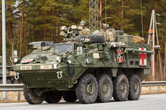 USA army Dragoon Ride Royalty Free Stock Photos