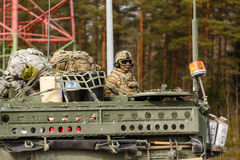 USA army Dragoon Ride Stock Photography