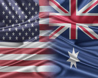 USA and Australia Stock Images