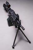 USA automatyczny maszynowy pistolet Odgórny widok Obrazy Royalty Free