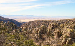 USA, AZ/Chiricahua: Landscape With Standing Rocks Royalty Free Stock Photography