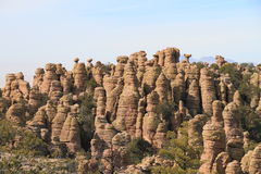 USA, AZ/Chiricahua Mountains: Standing-Up Rocks Stock Photos