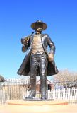 USA, AZ/Tombstone: Old West - Wyatt Earp Statue Stock Image