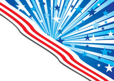 USA background Royalty Free Stock Photos