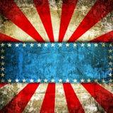 USA background. Dark Grunge USA style background Stock Photos
