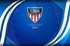 USA Background for independence day Royalty Free Stock Photo