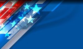 USA Background for independence day Stock Image