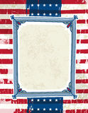 Usa background with one decorative label stock photos