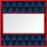 Usa background with stars and decorative frames. Usa background with stars and decorative frames Royalty Free Illustration