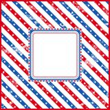 USA background, vector Royalty Free Stock Photography